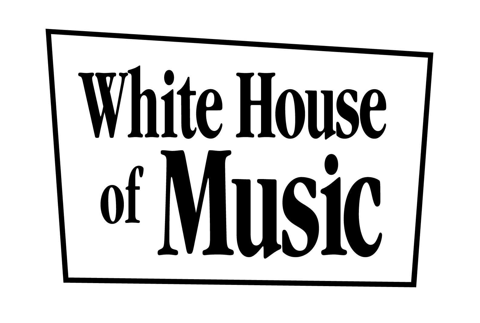 White-House-of-Music-Black-Stacked - Chris White